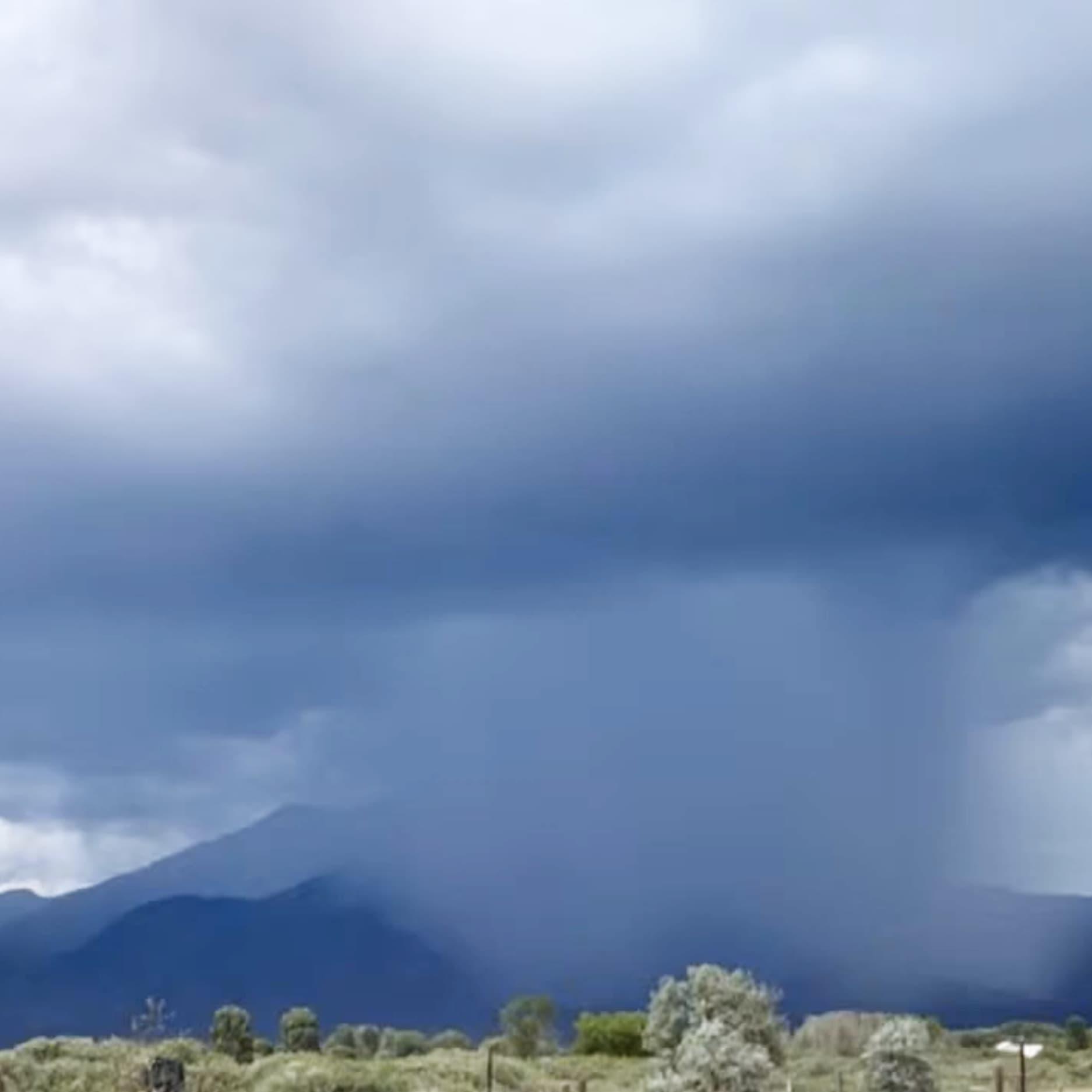 Taos Mountain Rain Showers Lumos Center Meditations